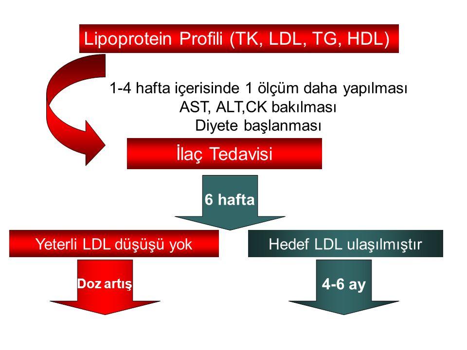 Lipoprotein Profili (TK, LDL, TG, HDL)