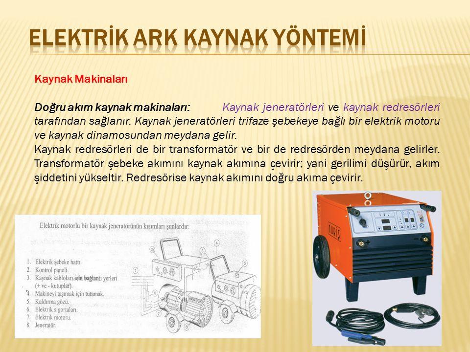 Elektrİk ark KAYNAK YÖNTEMİ