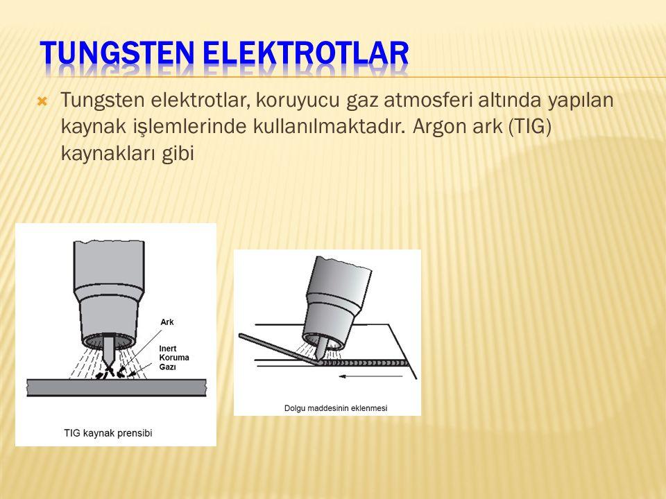 Tungsten Elektrotlar