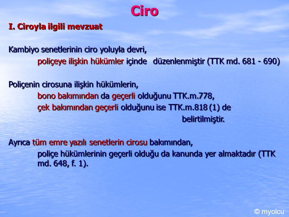 Ciro I. Ciroyla ilgili mevzuat