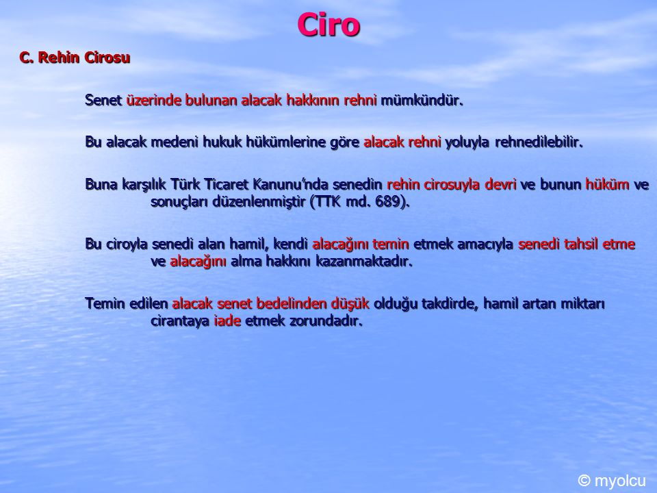 Ciro © myolcu C. Rehin Cirosu