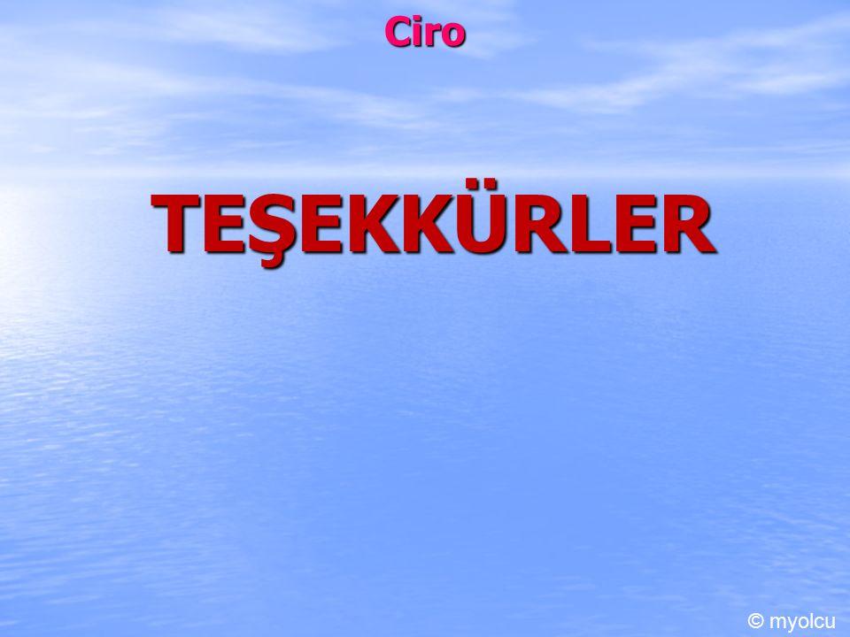 Ciro TEŞEKKÜRLER © myolcu