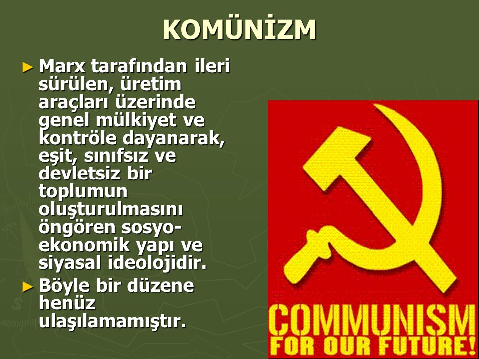 KOMÜNİZM