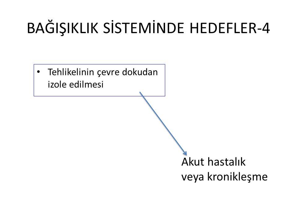 BAĞIŞIKLIK SİSTEMİNDE HEDEFLER-4