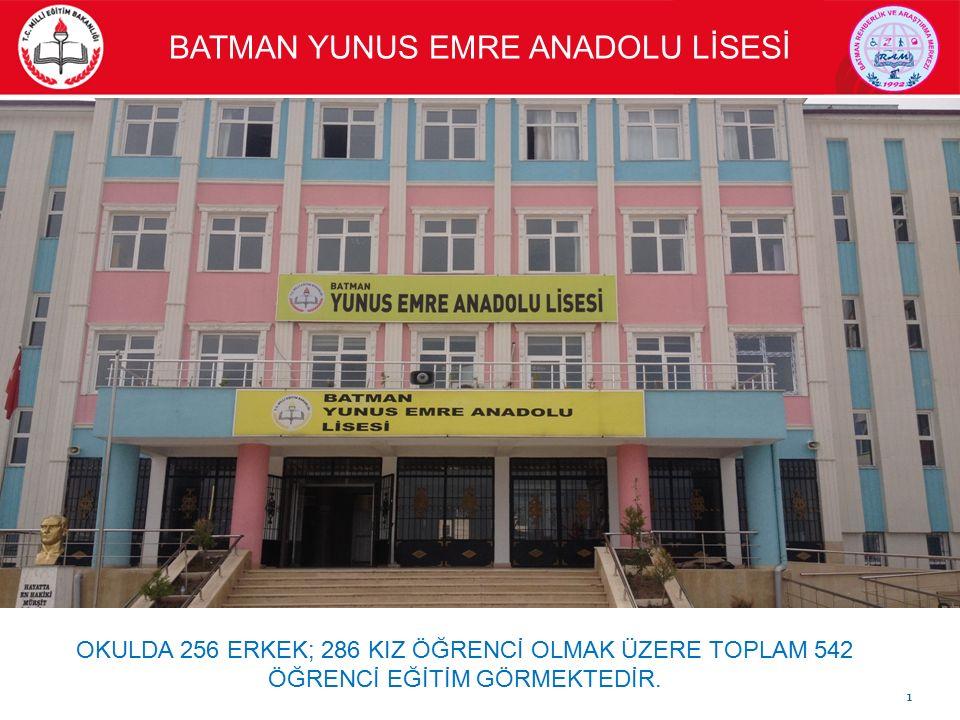 BATMAN YUNUS EMRE ANADOLU LİSESİ