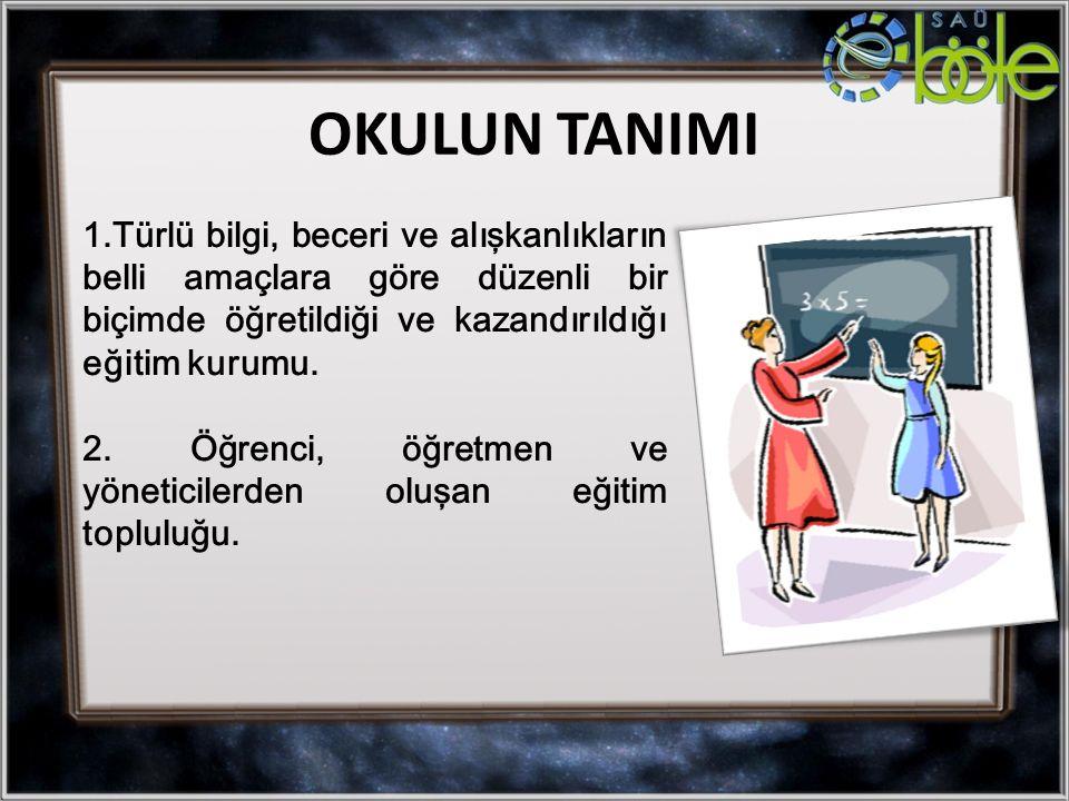 OKULUN TANIMI