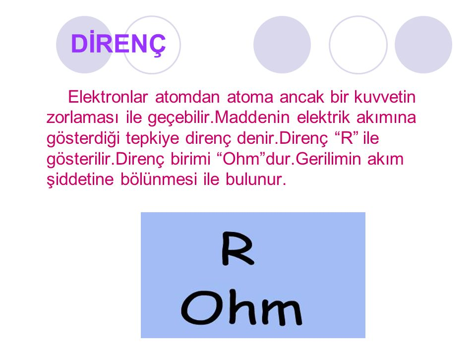 DİRENÇ