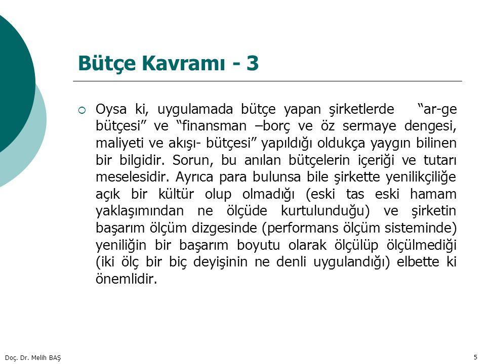 Bütçe Kavramı - 3