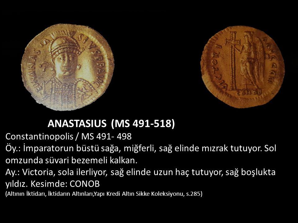 ANASTASIUS (MS 491-518) Constantinopolis / MS 491- 498