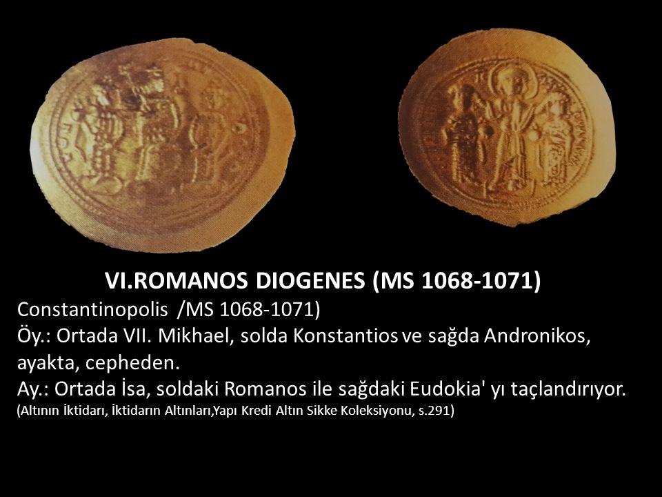 VI.ROMANOS DIOGENES (MS 1068-1071)