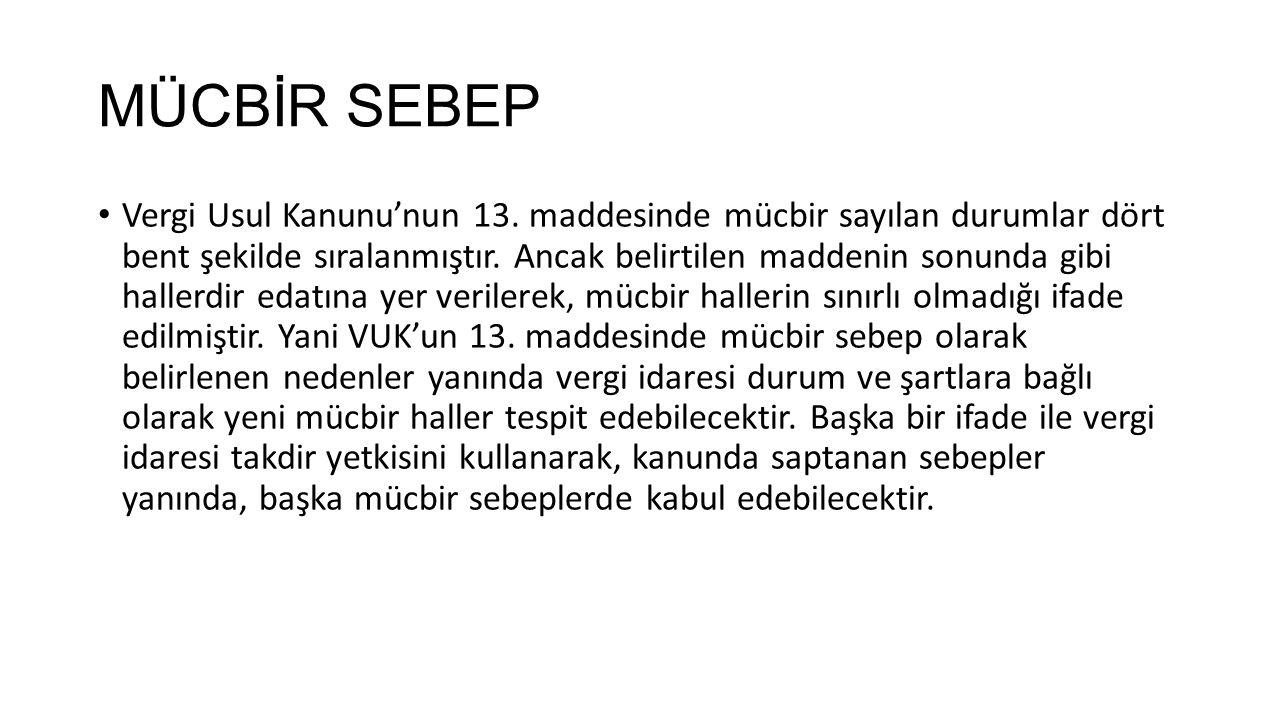 MÜCBİR SEBEP