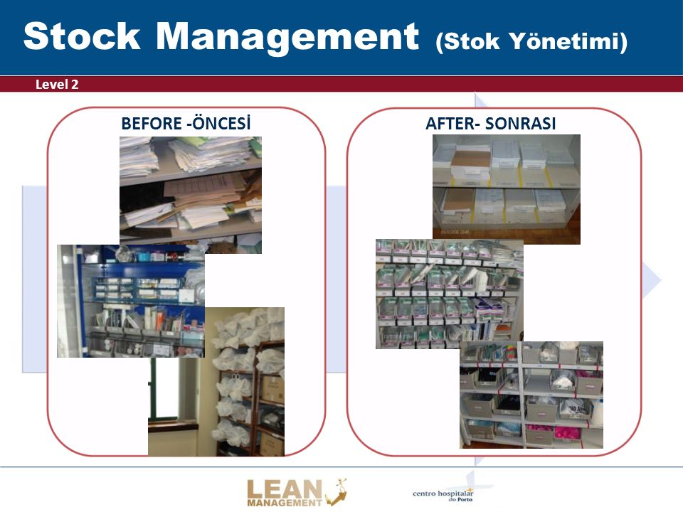 Stock Management (Stok Yönetimi)