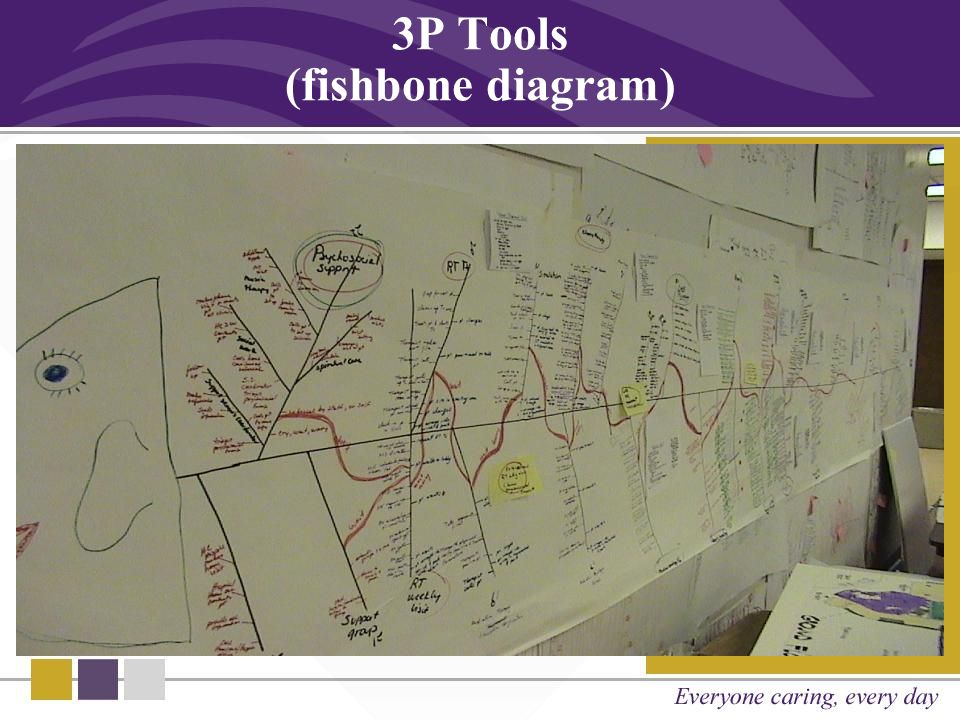 3P Tools (fishbone diagram)