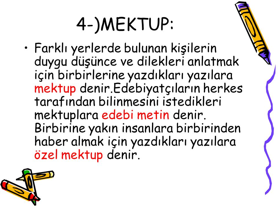 4-)MEKTUP: