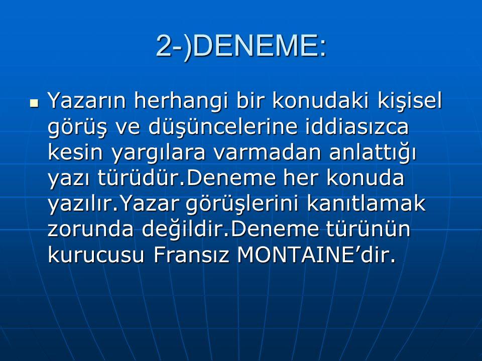 2-)DENEME: