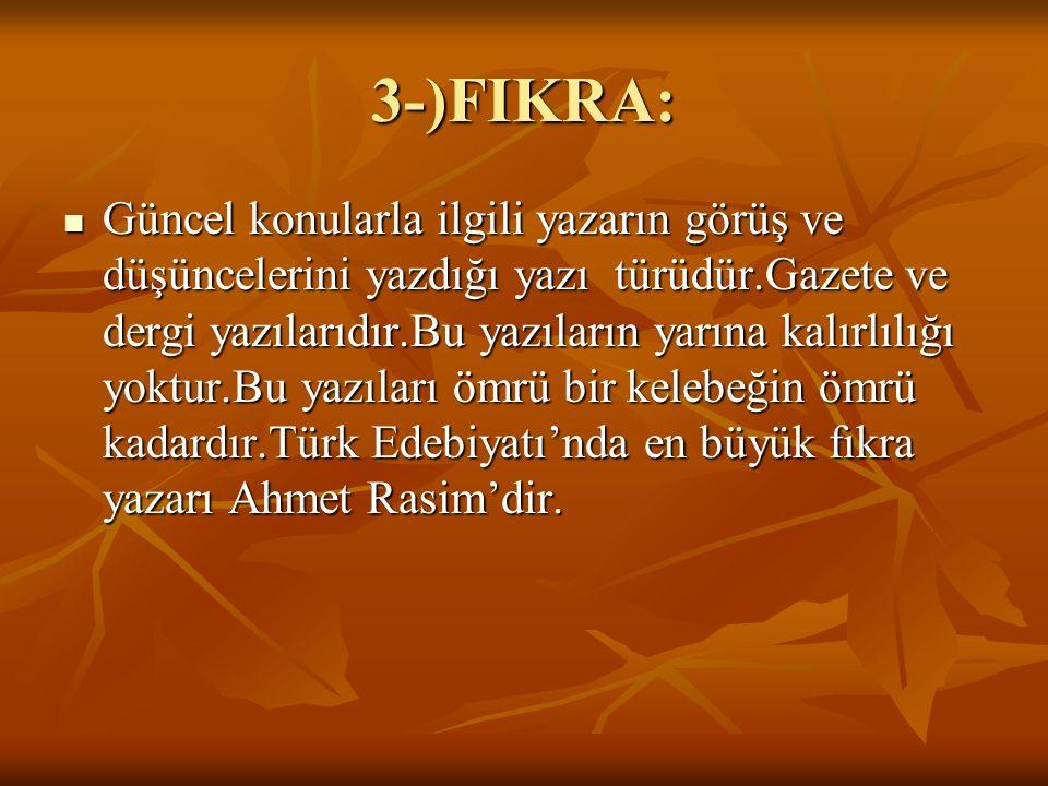 3-)FIKRA: