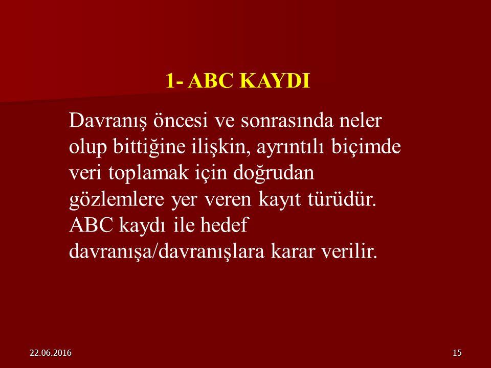 1- ABC KAYDI