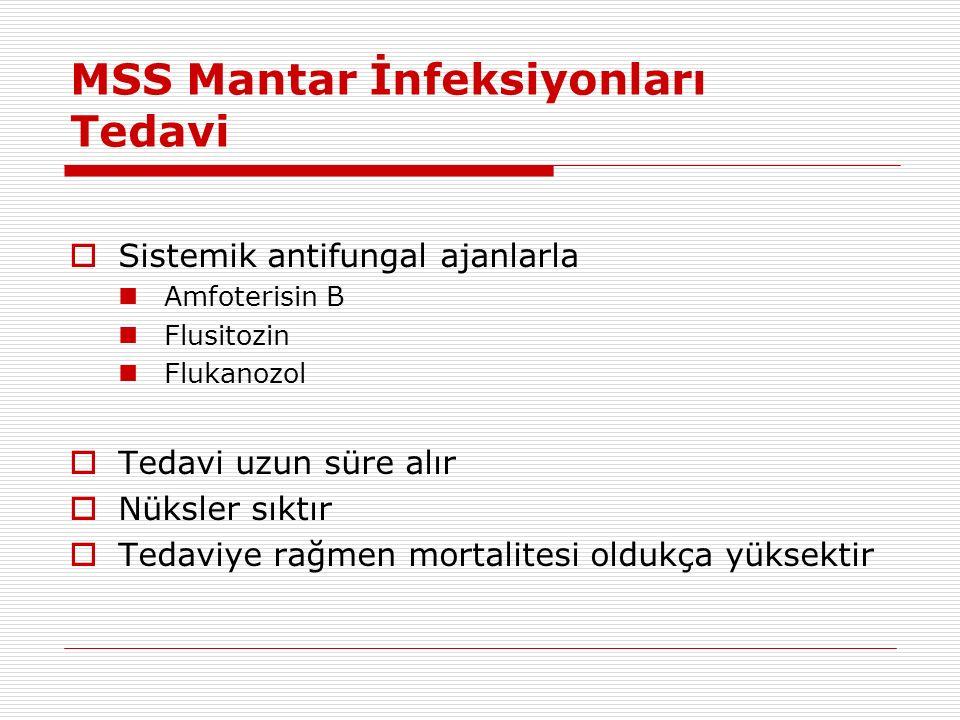 MSS Mantar İnfeksiyonları Tedavi