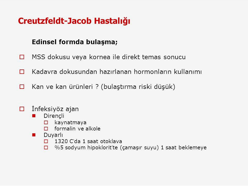 Creutzfeldt-Jacob Hastalığı