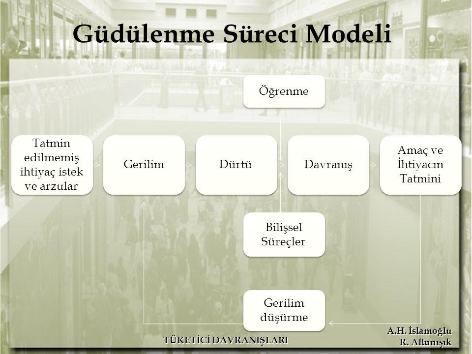 Güdülenme Süreci Modeli