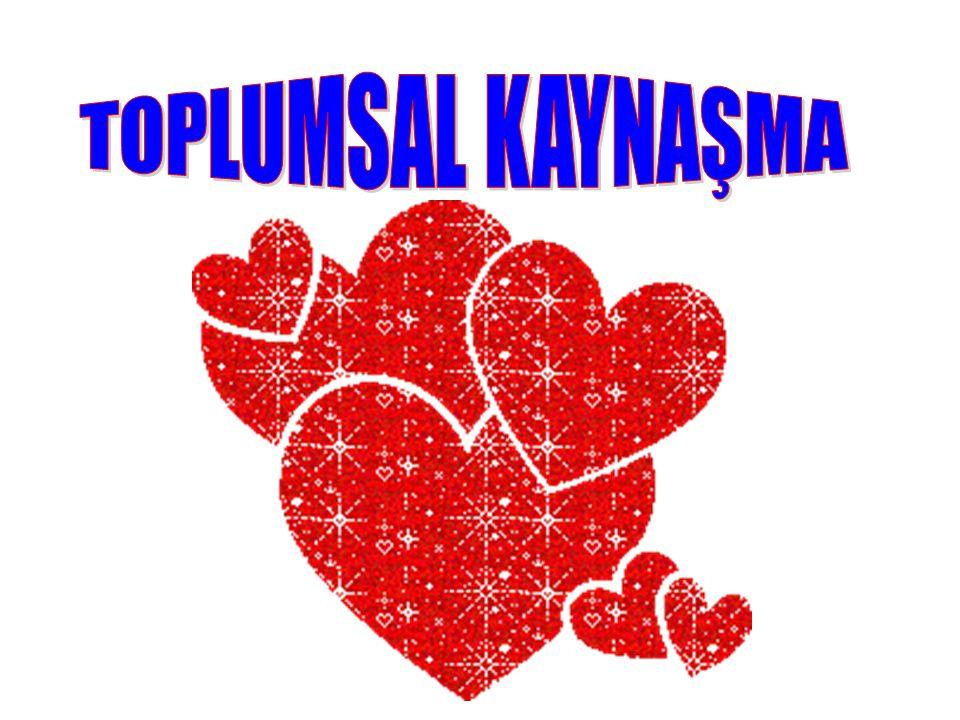 TOPLUMSAL KAYNAŞMA