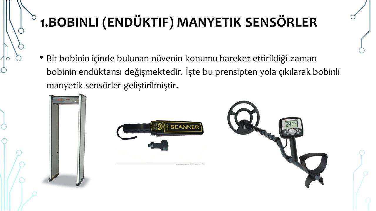 1.Bobinli (Endüktif) Manyetik Sensörler
