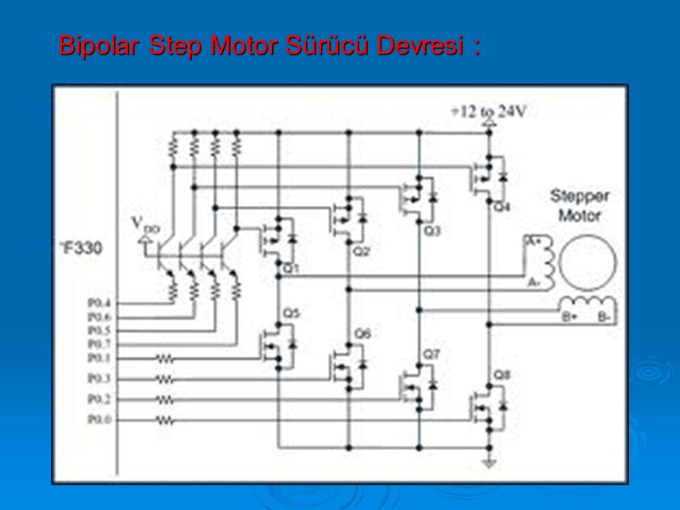 Bipolar Step Motor Sürücü Devresi :