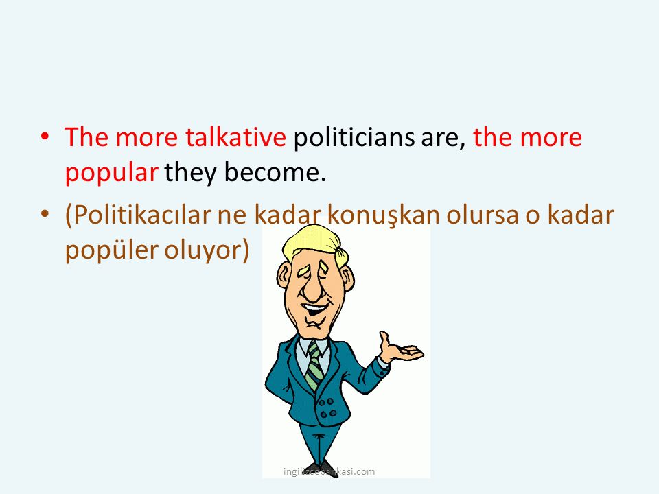 The more talkative politicians are, the more popular they become.