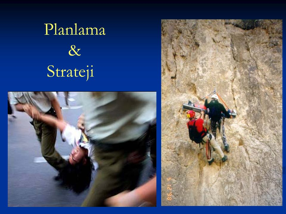 Planlama & Strateji