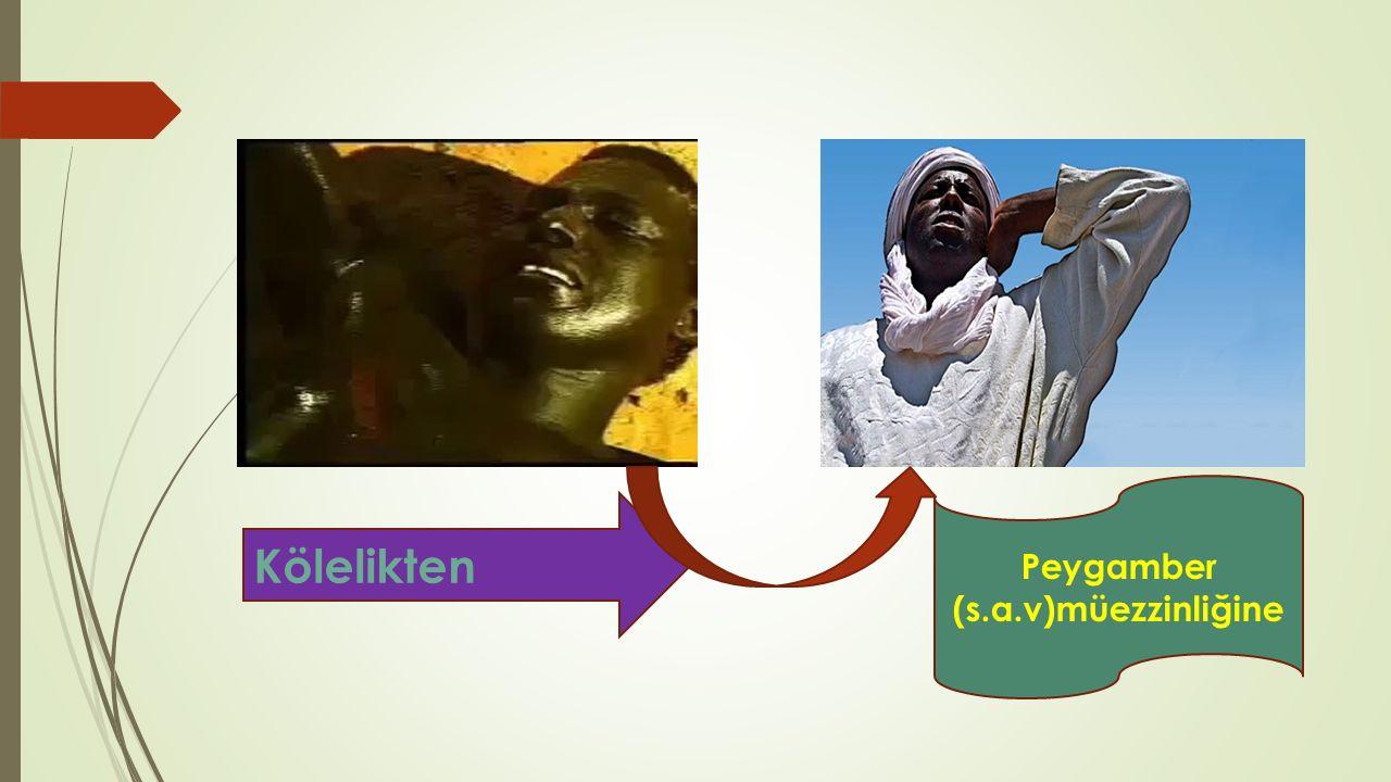 Peygamber (s.a.v)müezzinliğine