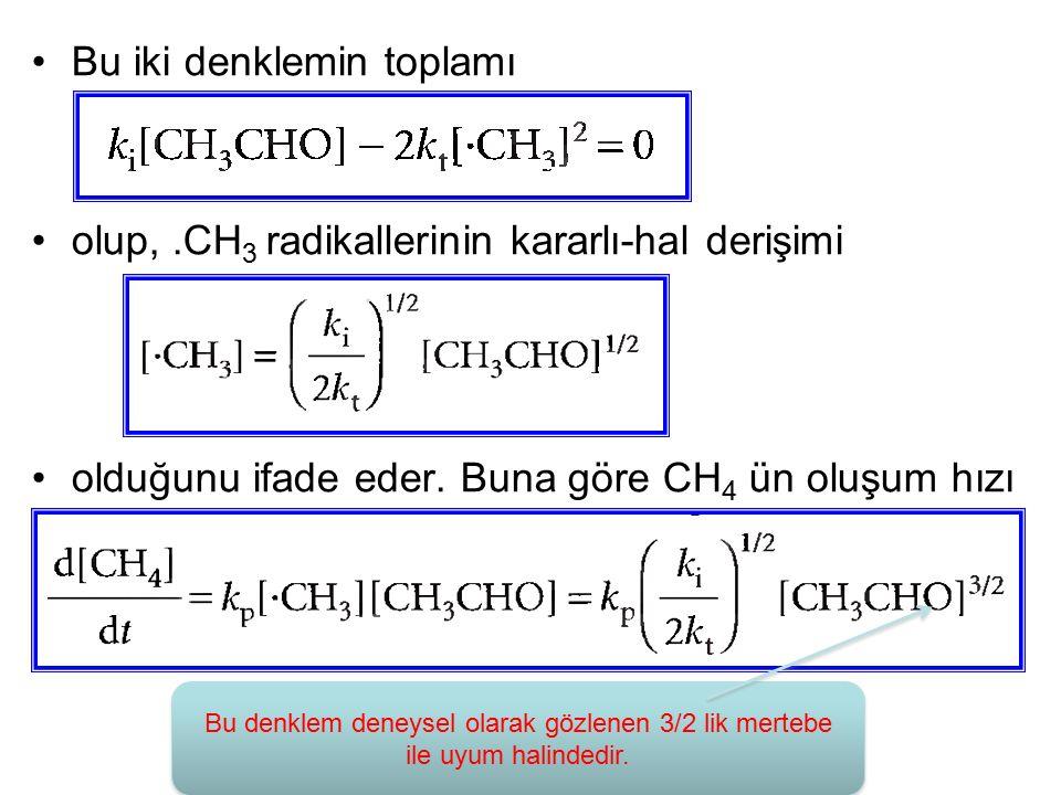 Bu iki denklemin toplamı