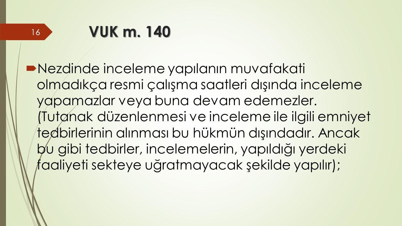 VUK m. 140