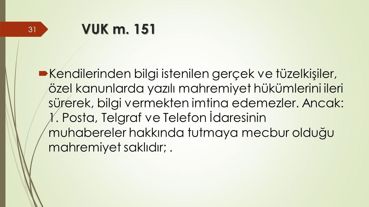 VUK m. 151