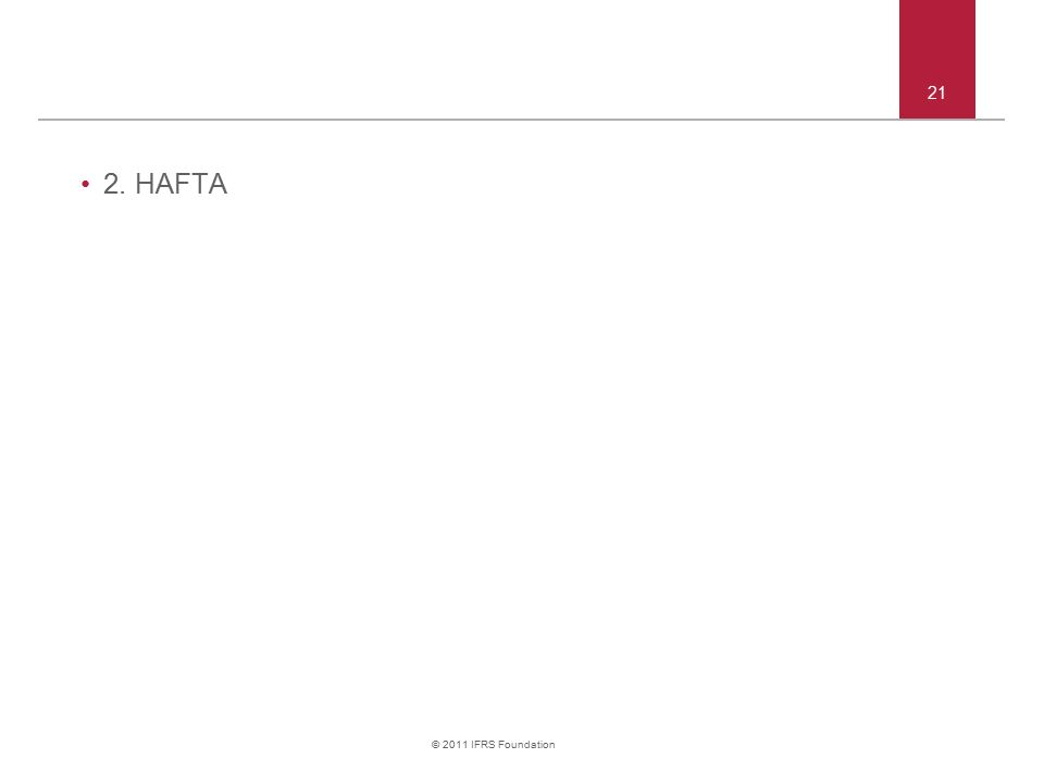 2. HAFTA