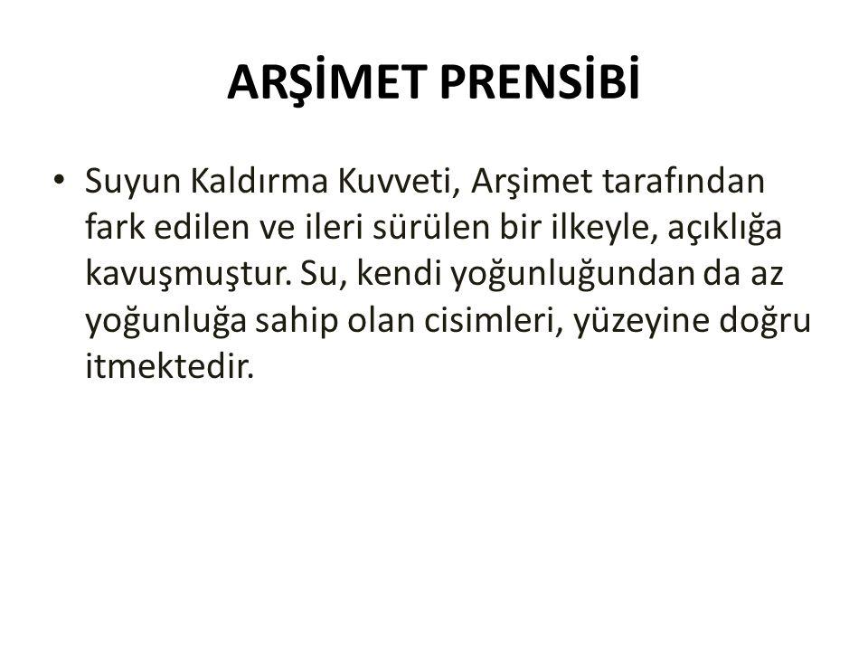 ARŞİMET PRENSİBİ