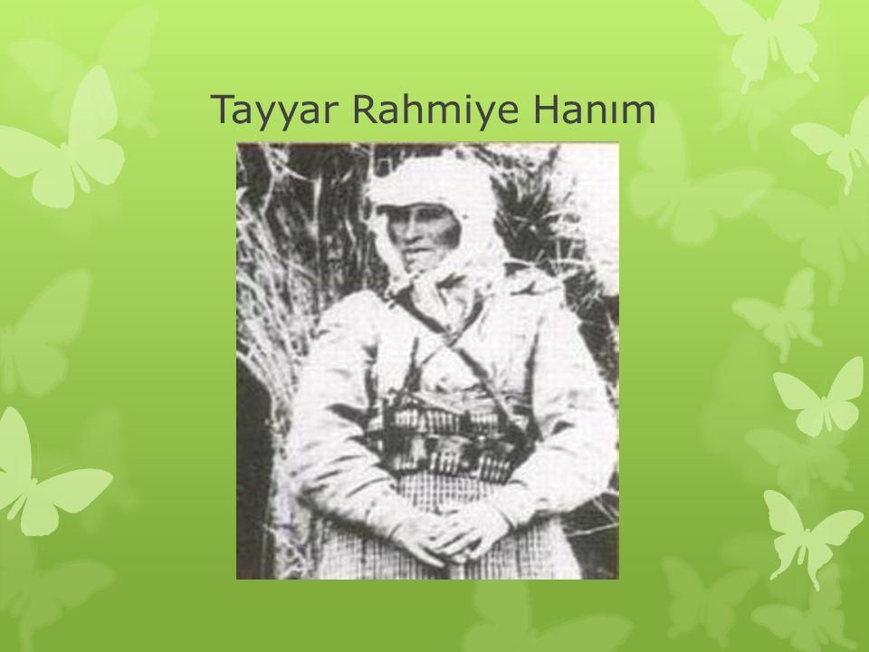 Tayyar Rahmiye Hanım