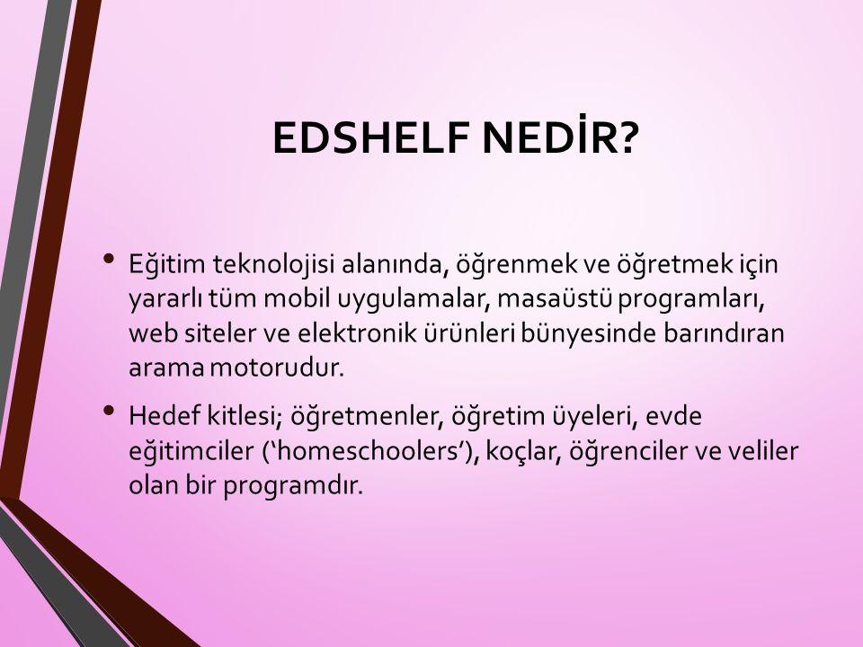 EDSHELF NEDİR