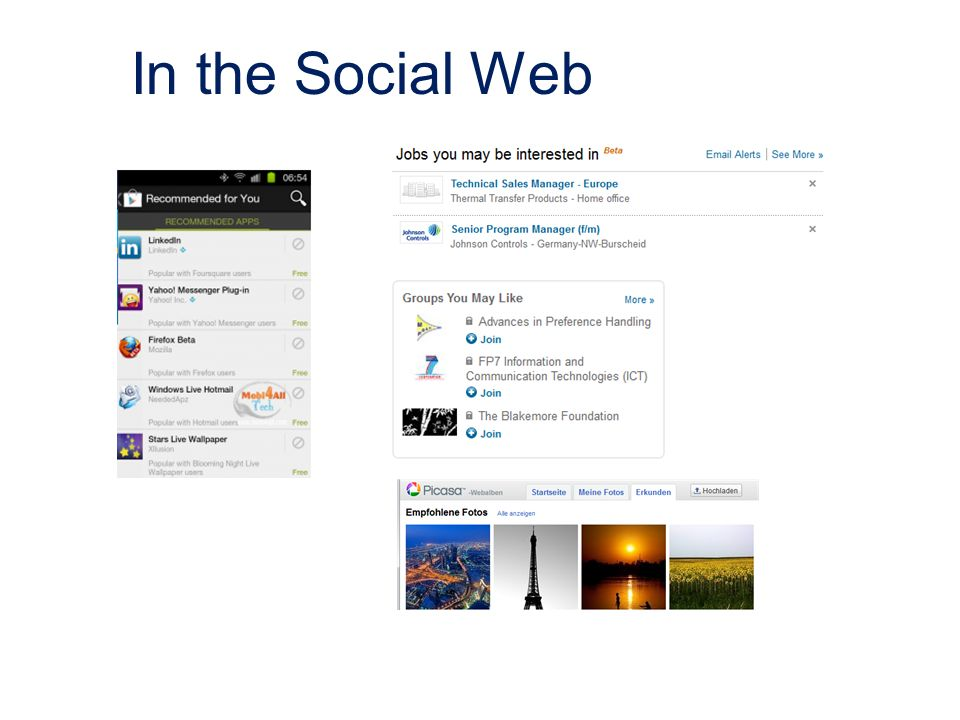 In the Social Web