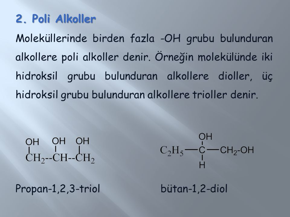 2. Poli Alkoller