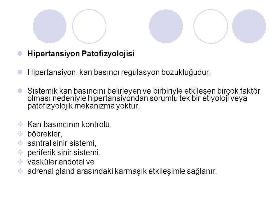 Hipertansiyon Patofizyolojisi
