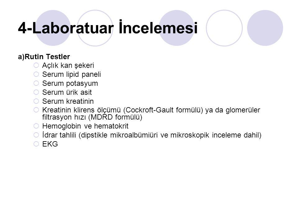 4-Laboratuar İncelemesi