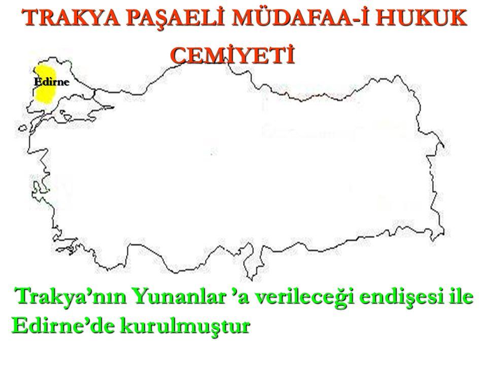 Edirne'de kurulmuştur