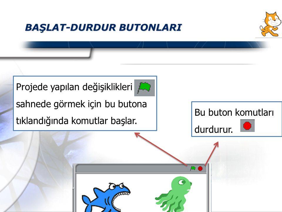 BAŞLAT-DURDUR BUTONLARI