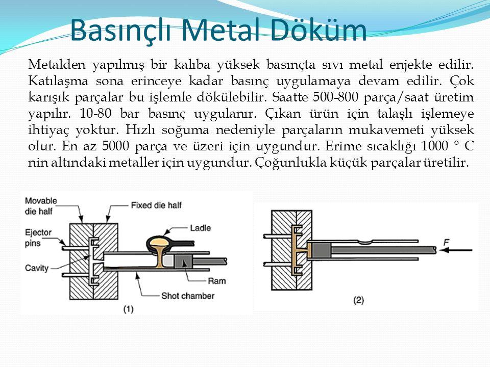 Basınçlı Metal Döküm