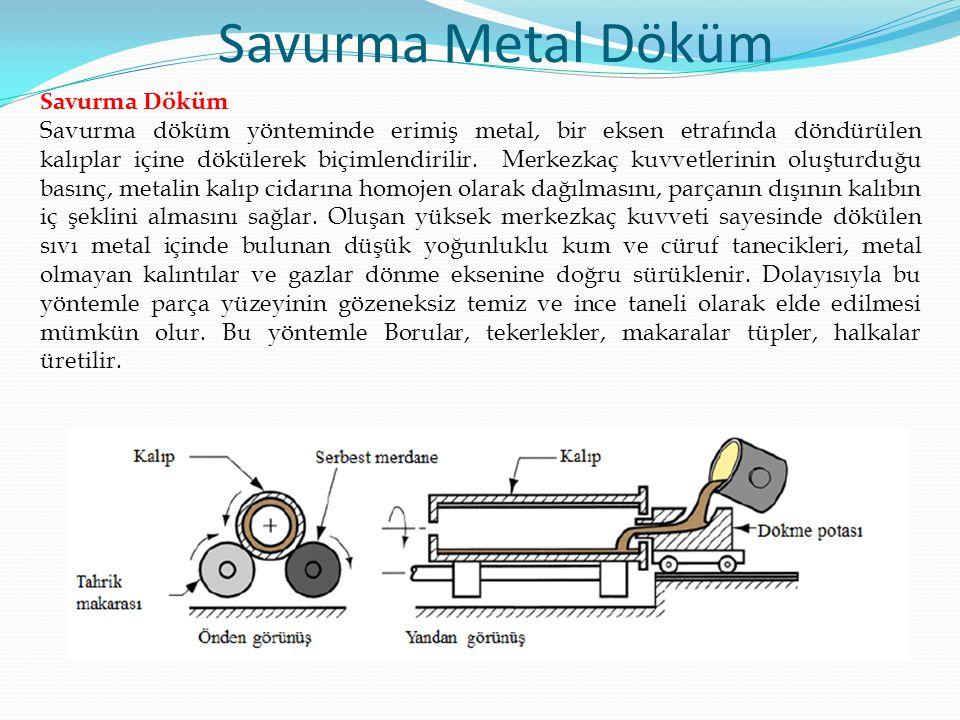 Savurma Metal Döküm Savurma Döküm