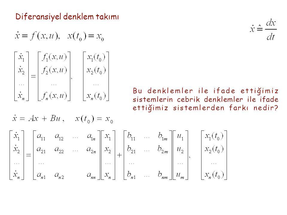 Diferansiyel denklem takımı