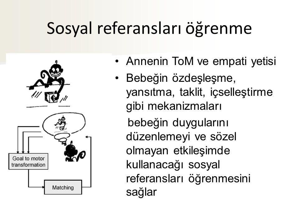 Sosyal referansları öğrenme