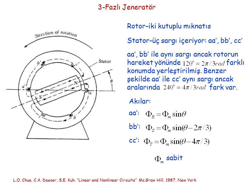 Rotor-iki kutuplu mıknatıs