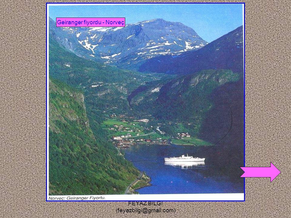Geiranger fiyordu - Norveç