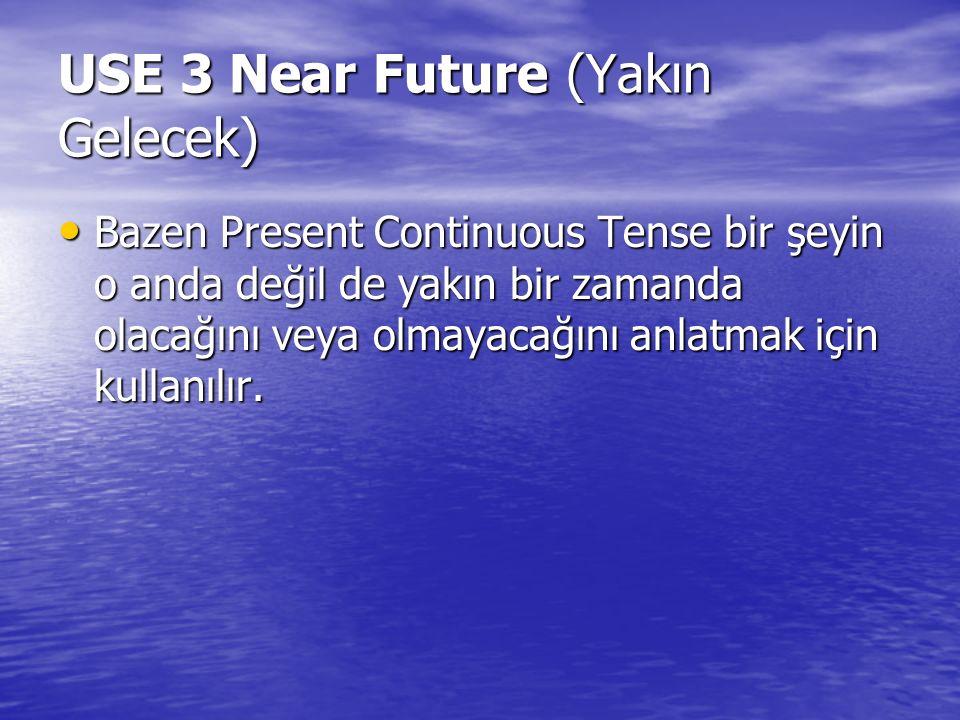 USE 3 Near Future (Yakın Gelecek)